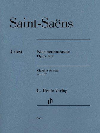 Saint-Saens Clarinet Sonata Op167