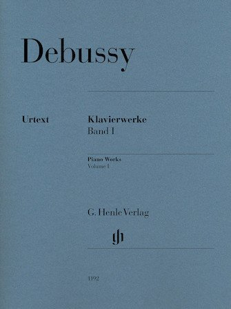Debussy Piano Works Volume 1 Klavierwerke