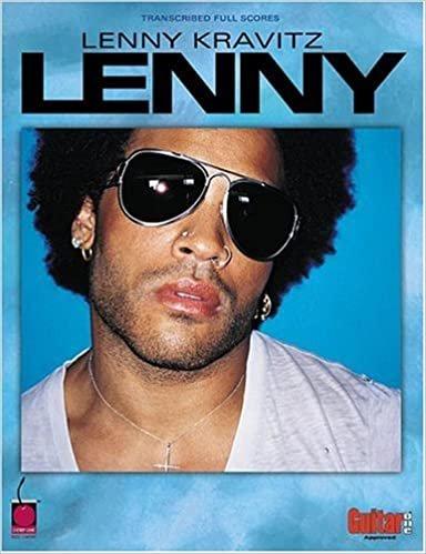 Lenny Kravitz Lenny Transcribed Full Scores