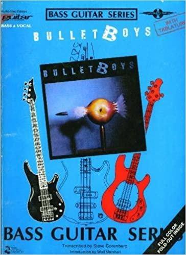 Bullet Boys Bass Guitar Series TAB