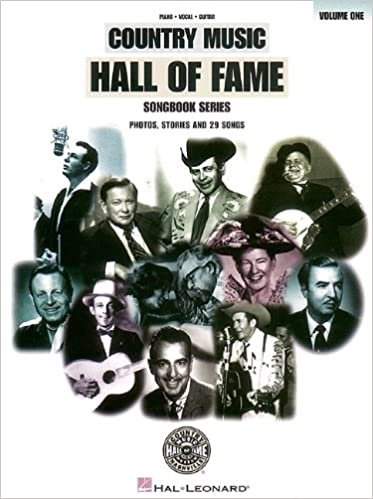 Country Music Hall of Fame Songbook Series Volume One