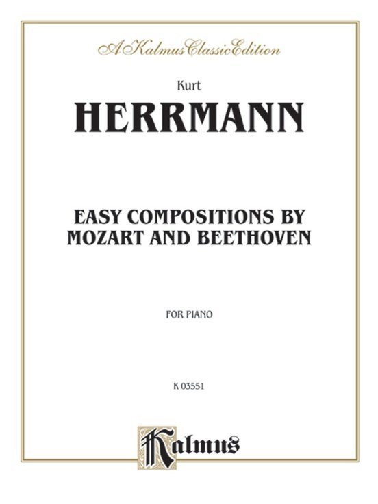 Easy Compositions By Mozart And Beethoven For Piano