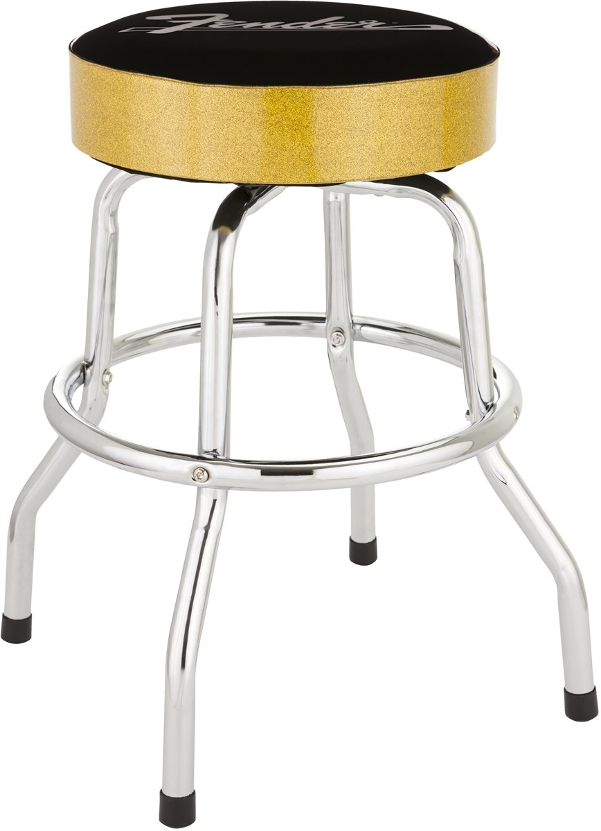 Fender Gold Sparkle Bar Stool