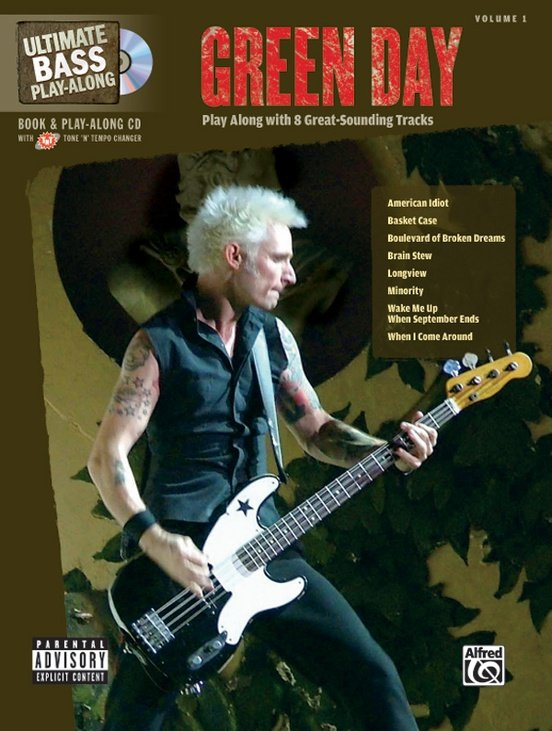 Ultimate Bass Play-Along (CD) Green Day Volume 1
