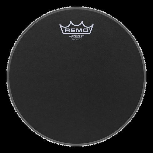 Remo 10 Ambassador Black Suede  [BA-0810-ES]