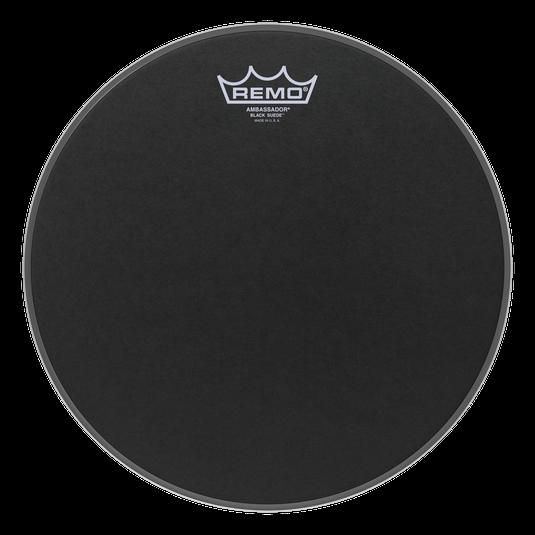 Remo 12 Ambassador Black Suede [BA-0812-ES]