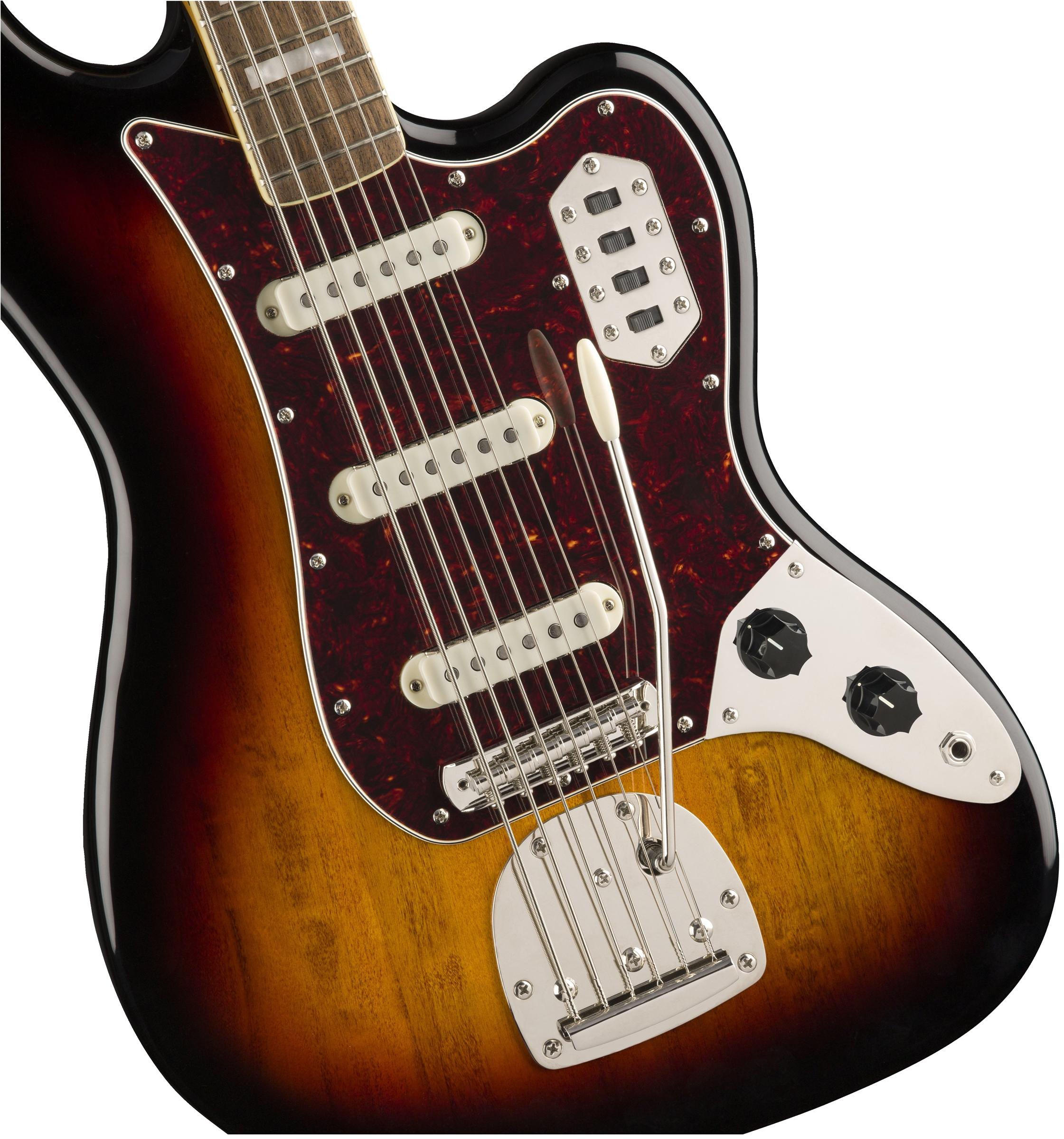 Squier Vintage Modified Bass VI  Sunburst