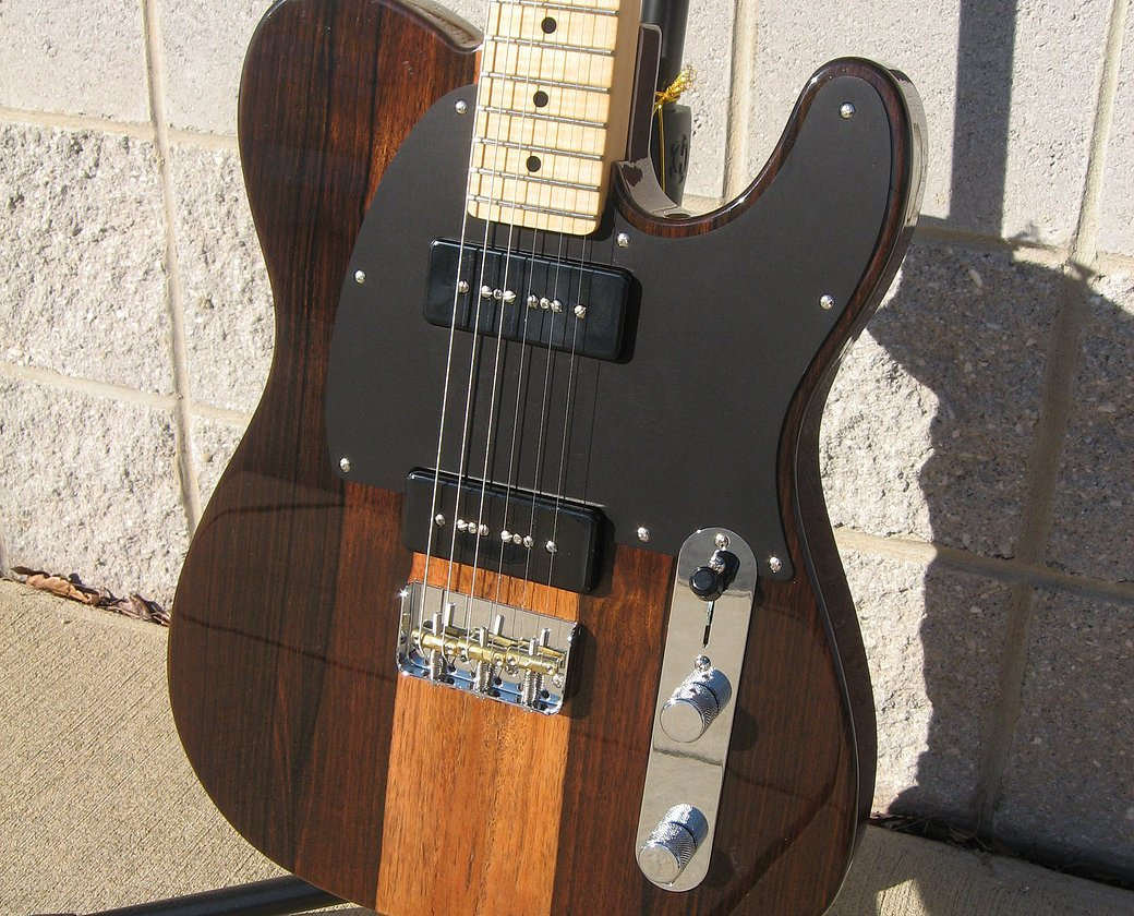 Fender Limited Edition Malaysian Blackwood Telecaster  w/ Maple Fingerboard