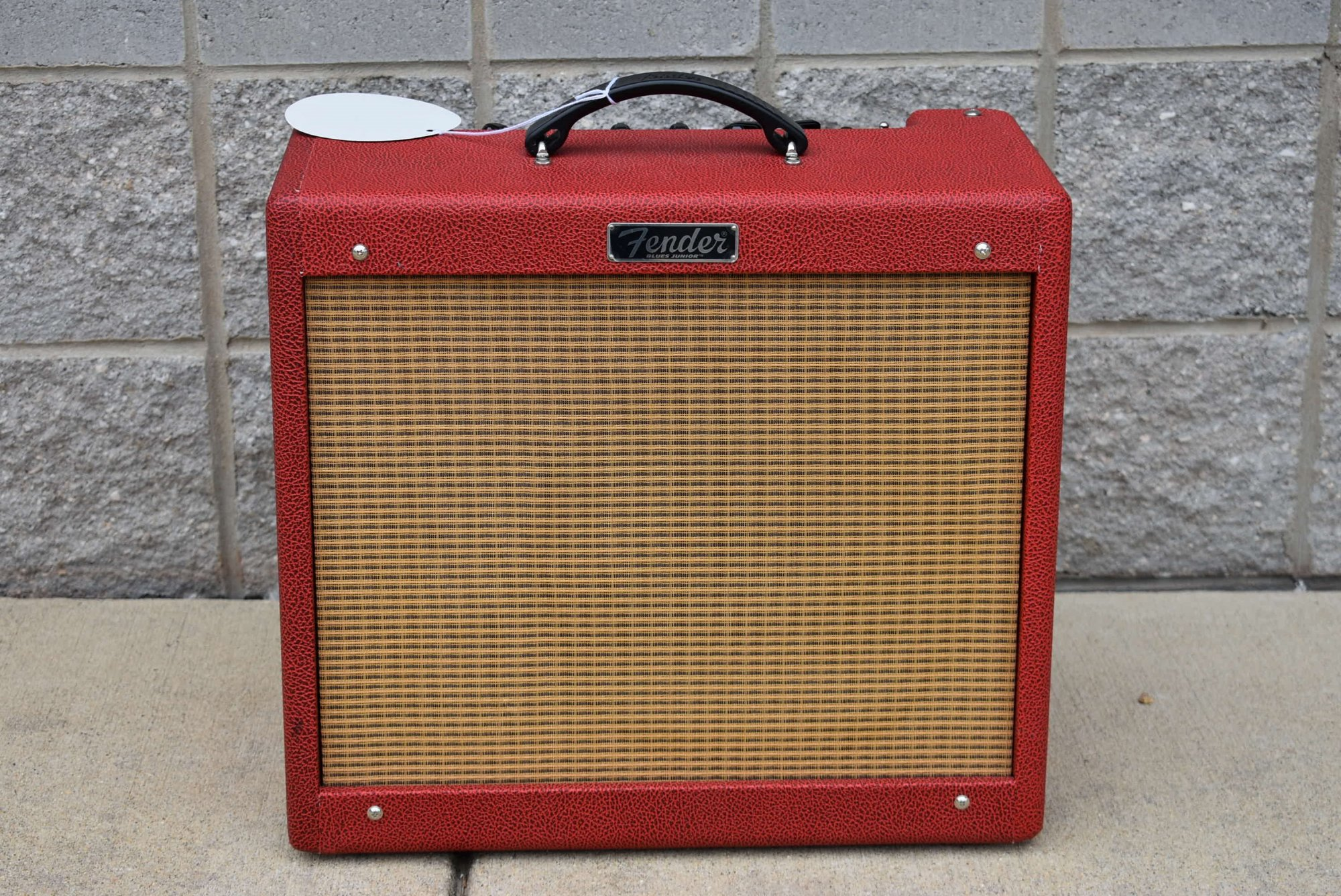 Fender Limited Edition Blues Jr - British Red