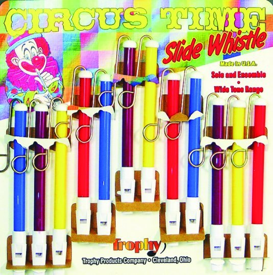 Circus Time Slide Whistle - Made in U.S.A.