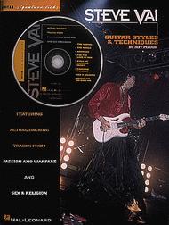 Steve Vai: Guitar Styles & Techniques