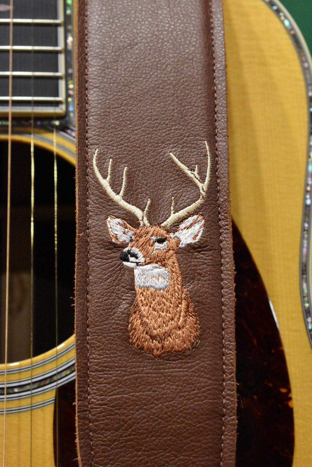 Levi's Custom Whitetail Deer Guitar Strap