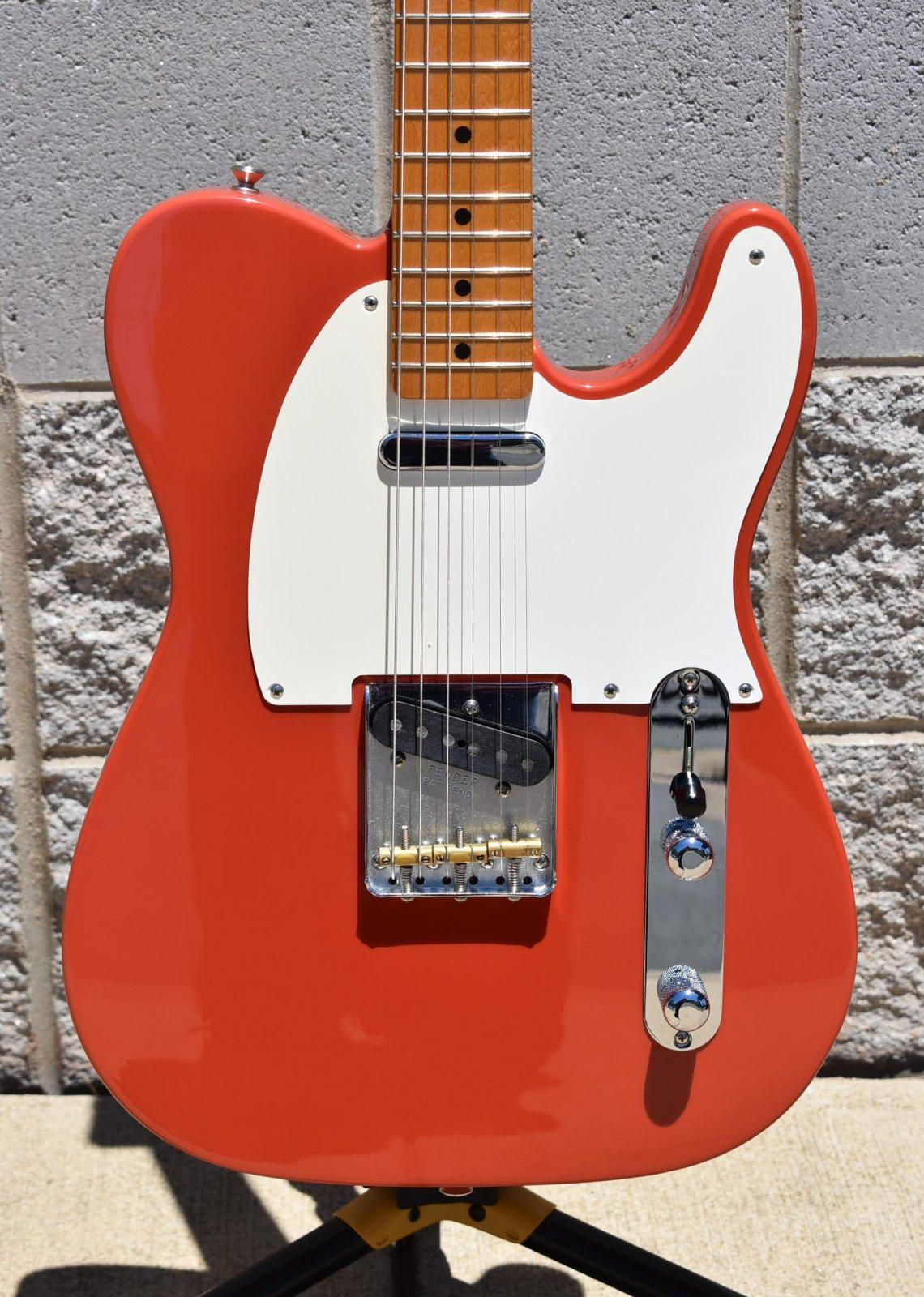 2019 Fender Vintera 50s Telecaster     Fiesta Red