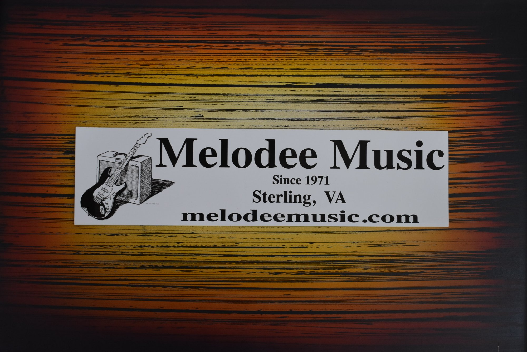 Melodee Music Bumper Sticker