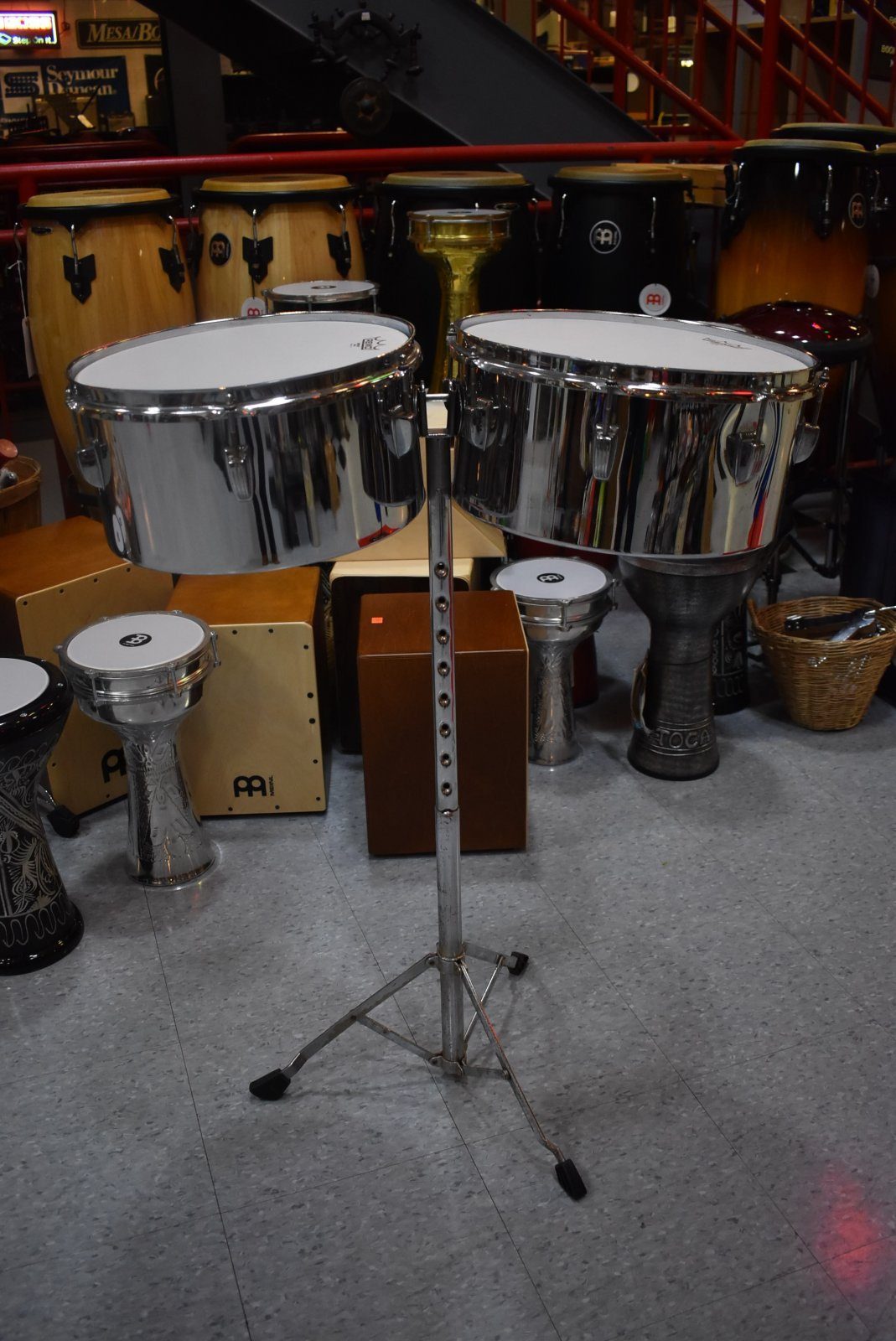 Used Ludwig Timbales w/Stand