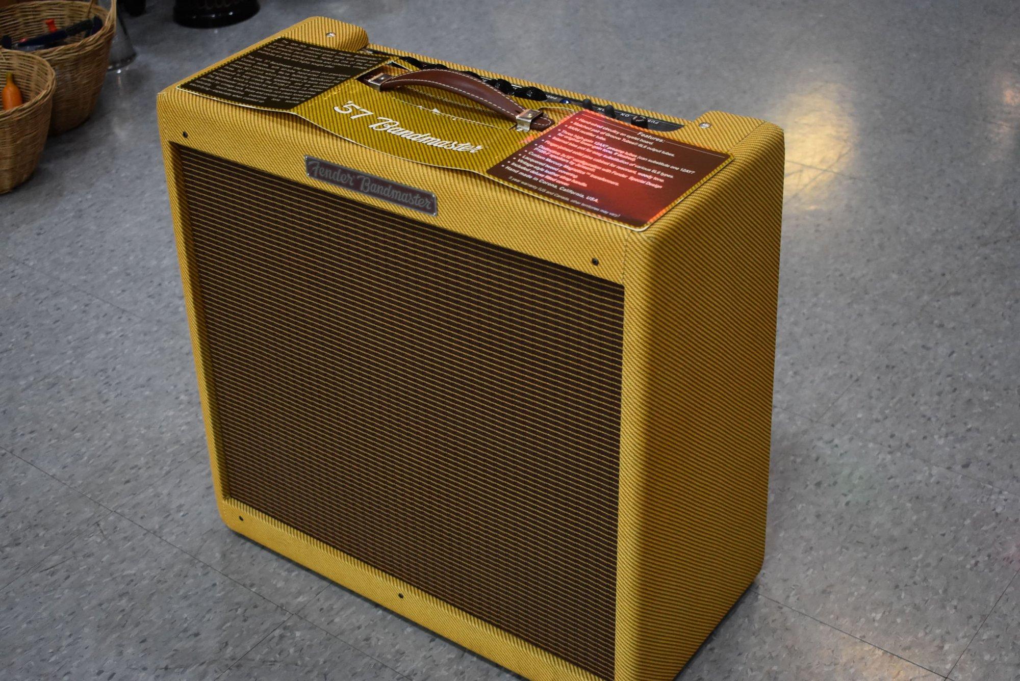 Fender '57 Bandmaster 26w 3x10 Combo