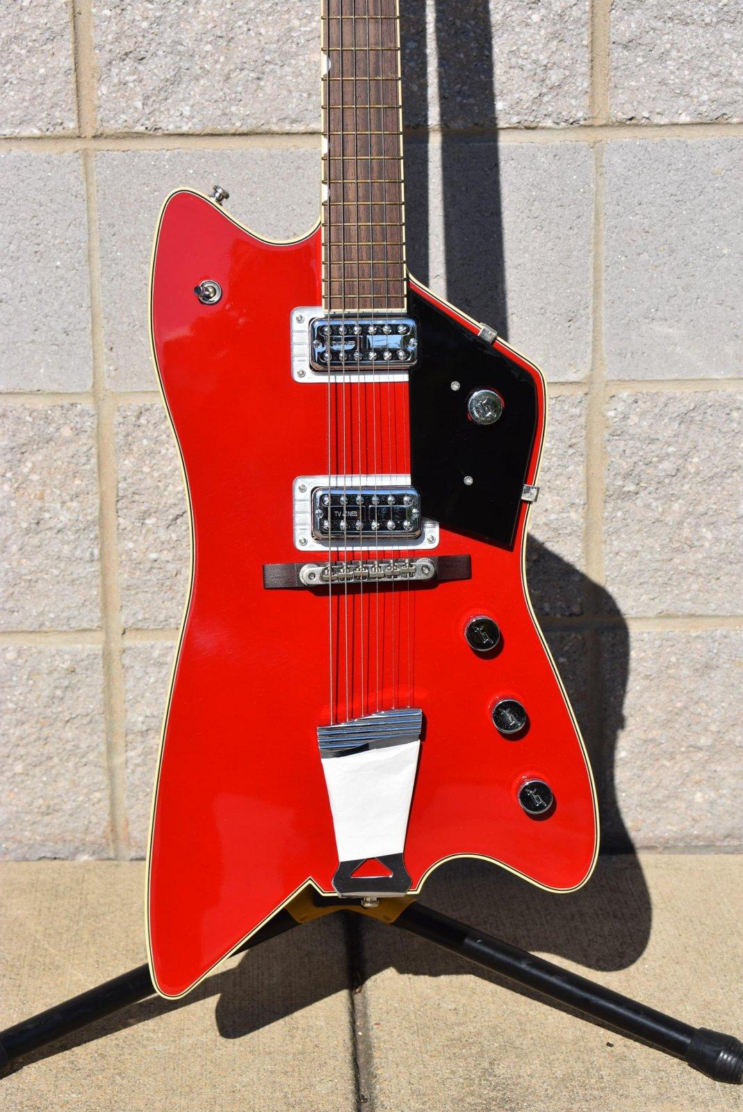 2005 Gretsch G6199 Billy-Bo Jupiter Thunderbird - Firebird Red