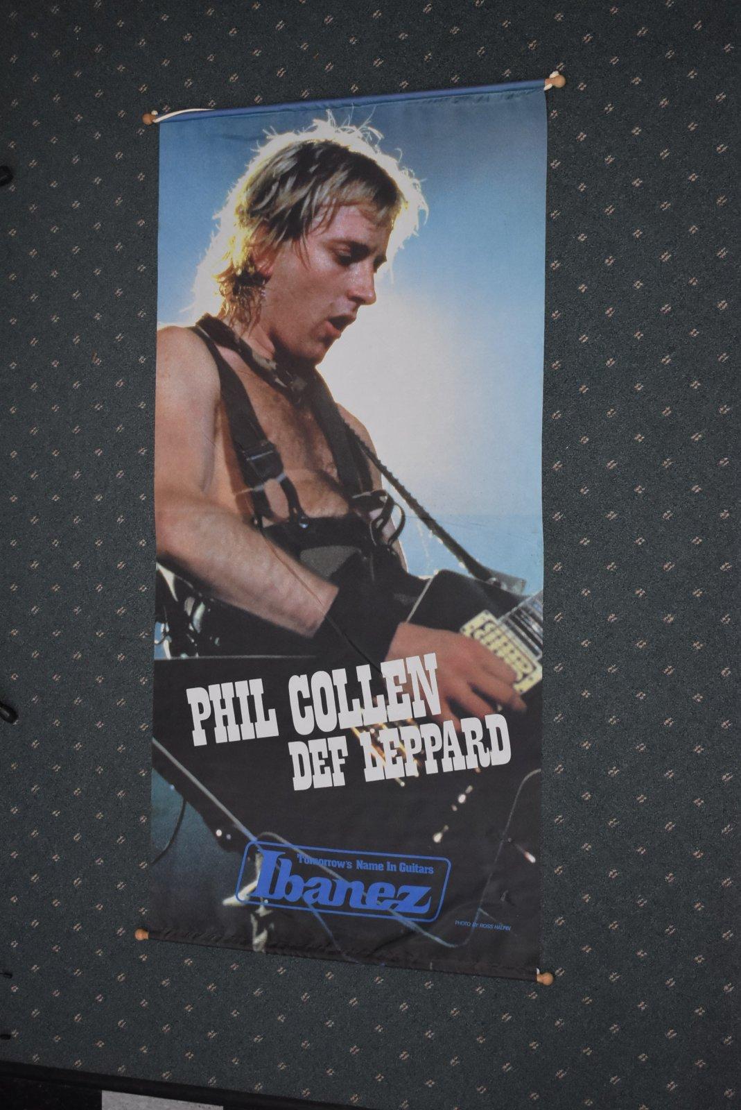 Phil Collen/Def Leppard Ibanez Banner