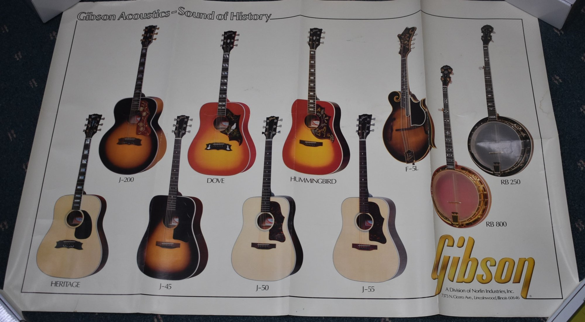 Gibson Acoustics Poster