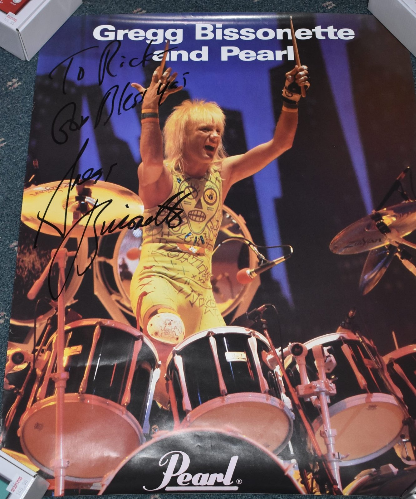 Greg Bissonette/Pearl Poster