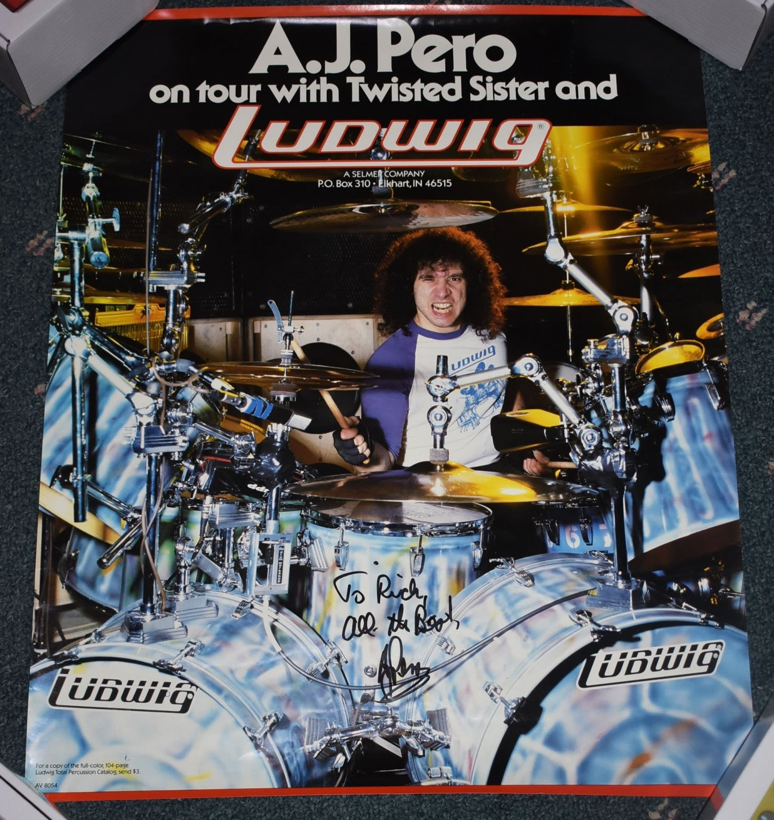 A.J. Pero/Ludwig Poster