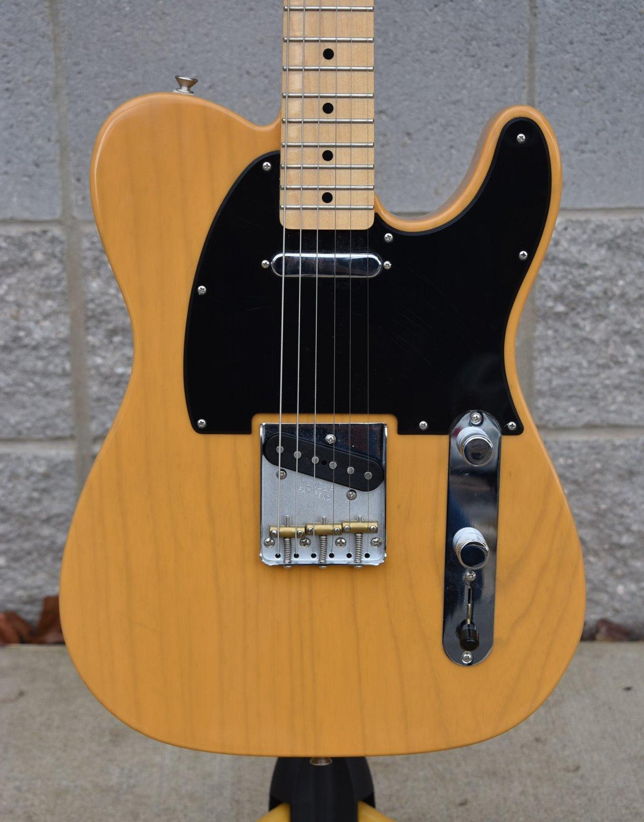 2017 Fender Special Edition Ash Telecaster