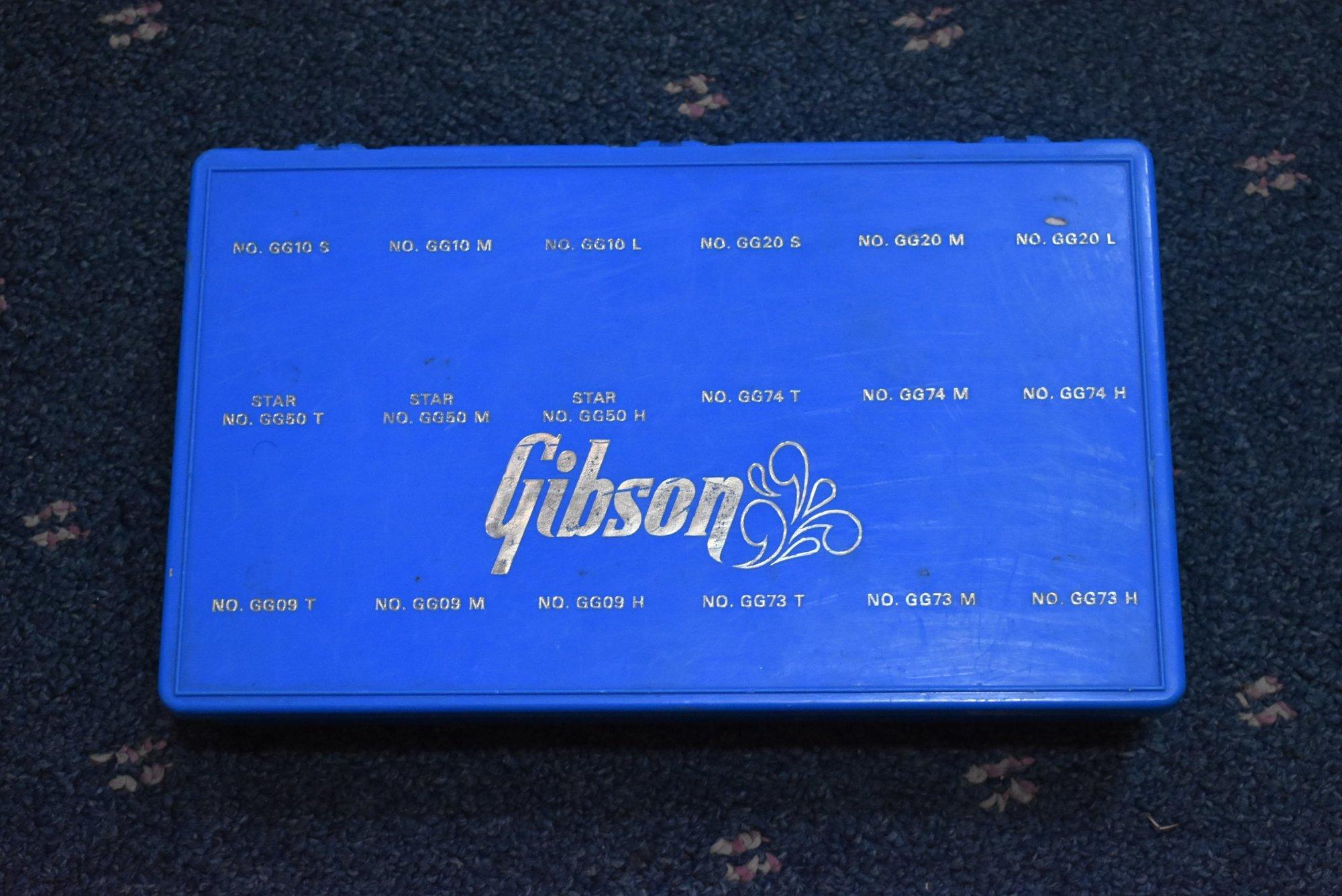 Gibson Guitar Picks Display Box 1970s