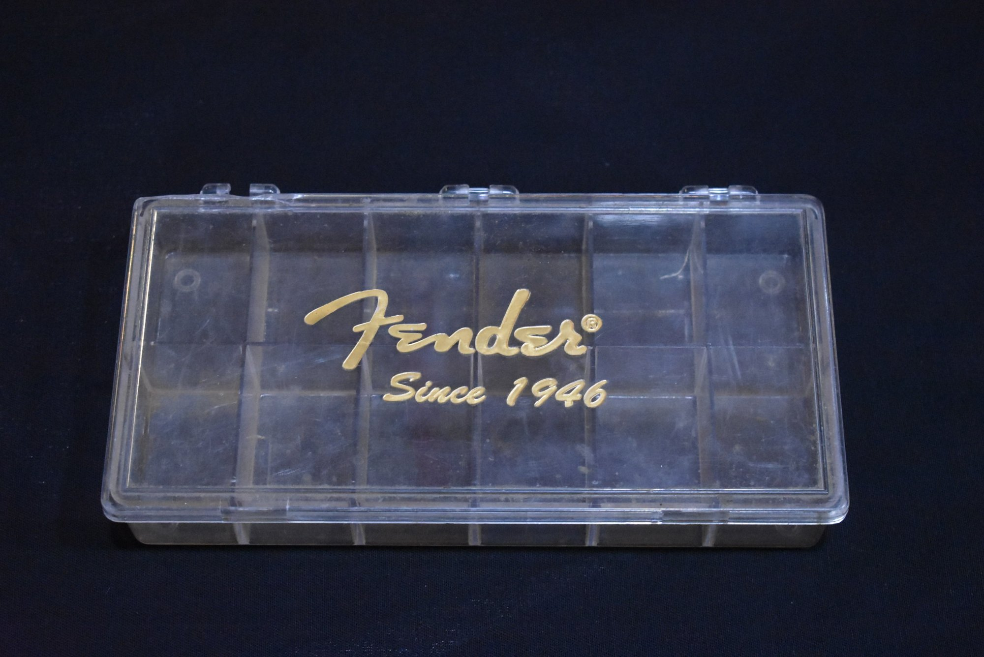 Fender Since 1946 Pick Display Box