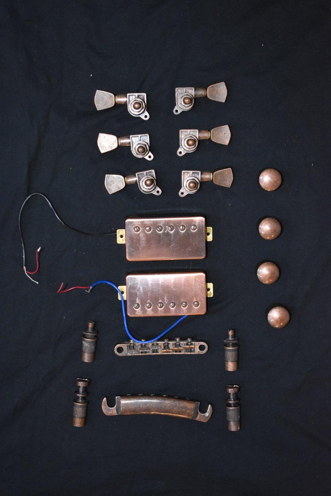 Used AXL Guitar Hardware