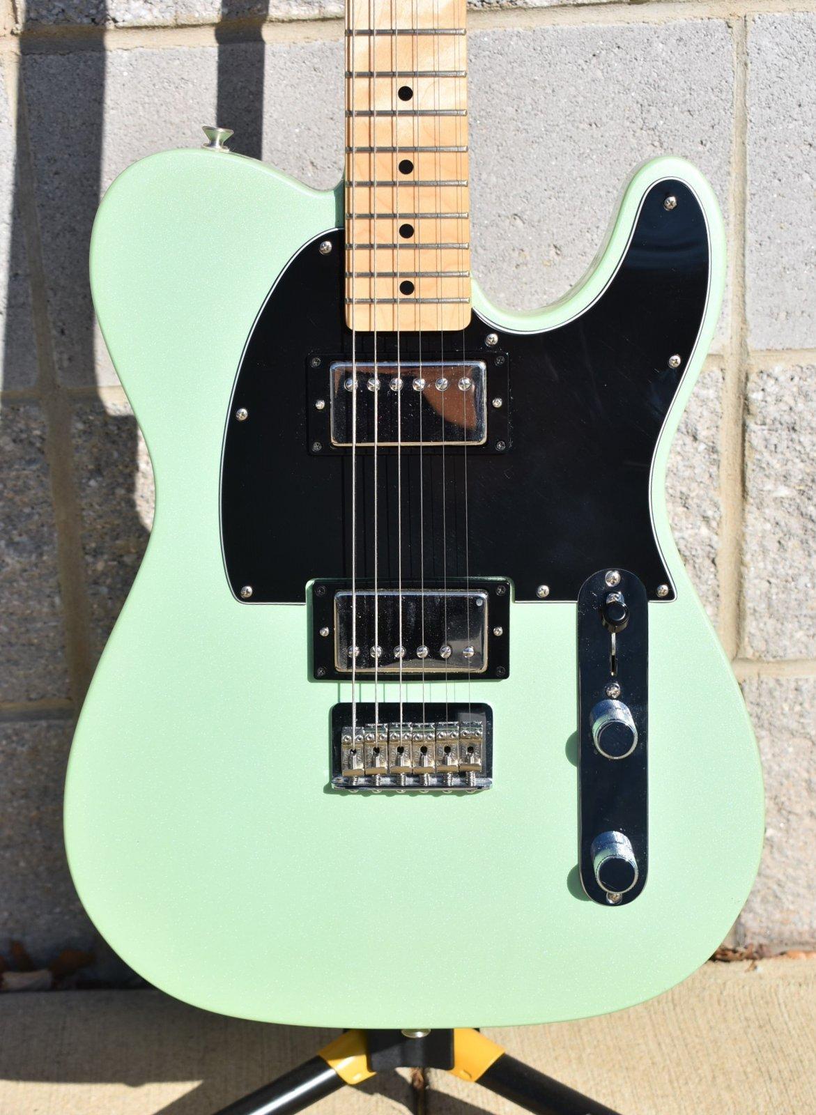 2017 Fender Standard Telecaster HH  - Sea Foam Pearl