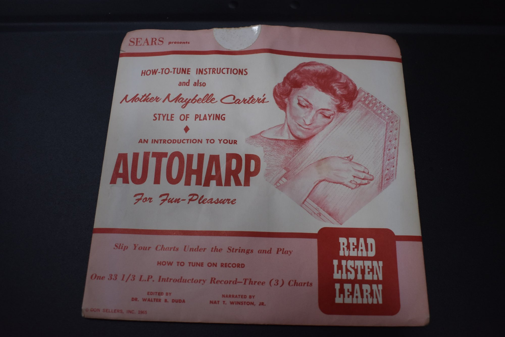 Mother Maybelle Carter Autoharp Instruction Record