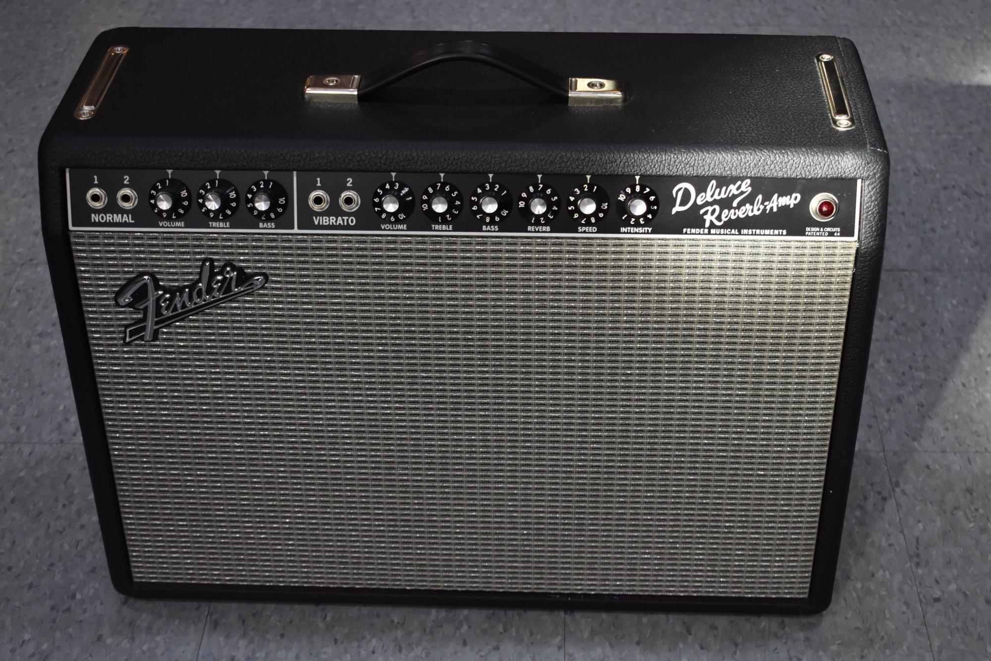 2002 Fender '65 Deluxe Reverb Reissue (Made in USA)