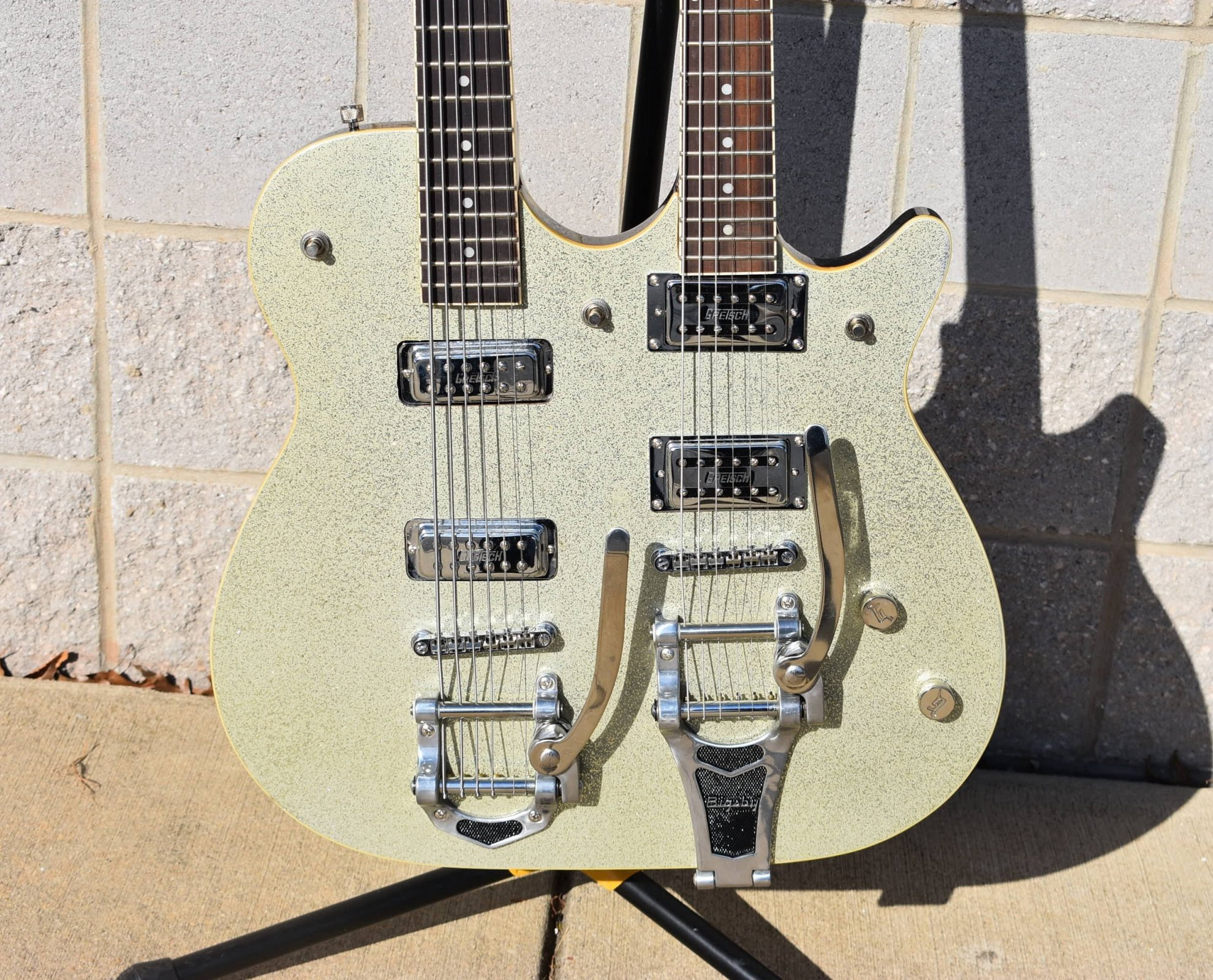 2003 Gretsch G1566 Synchromatic Sparkle Double Jet
