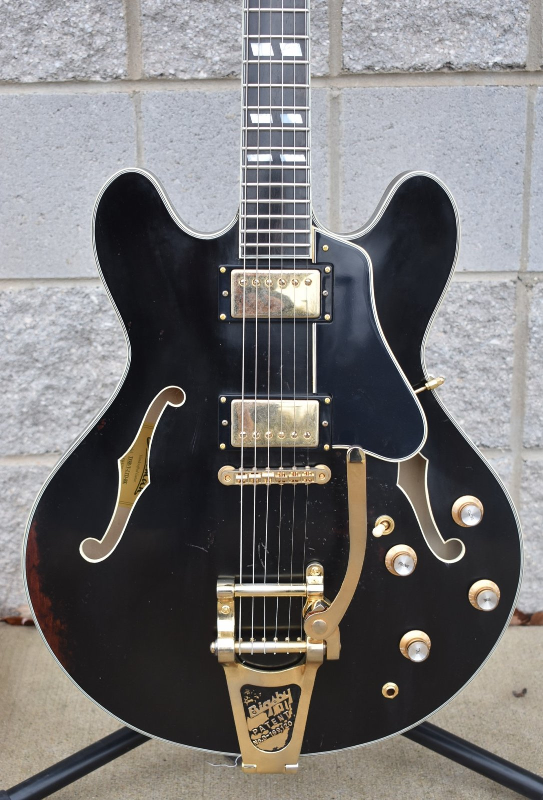 Eastman T59B/V-LTD-BK