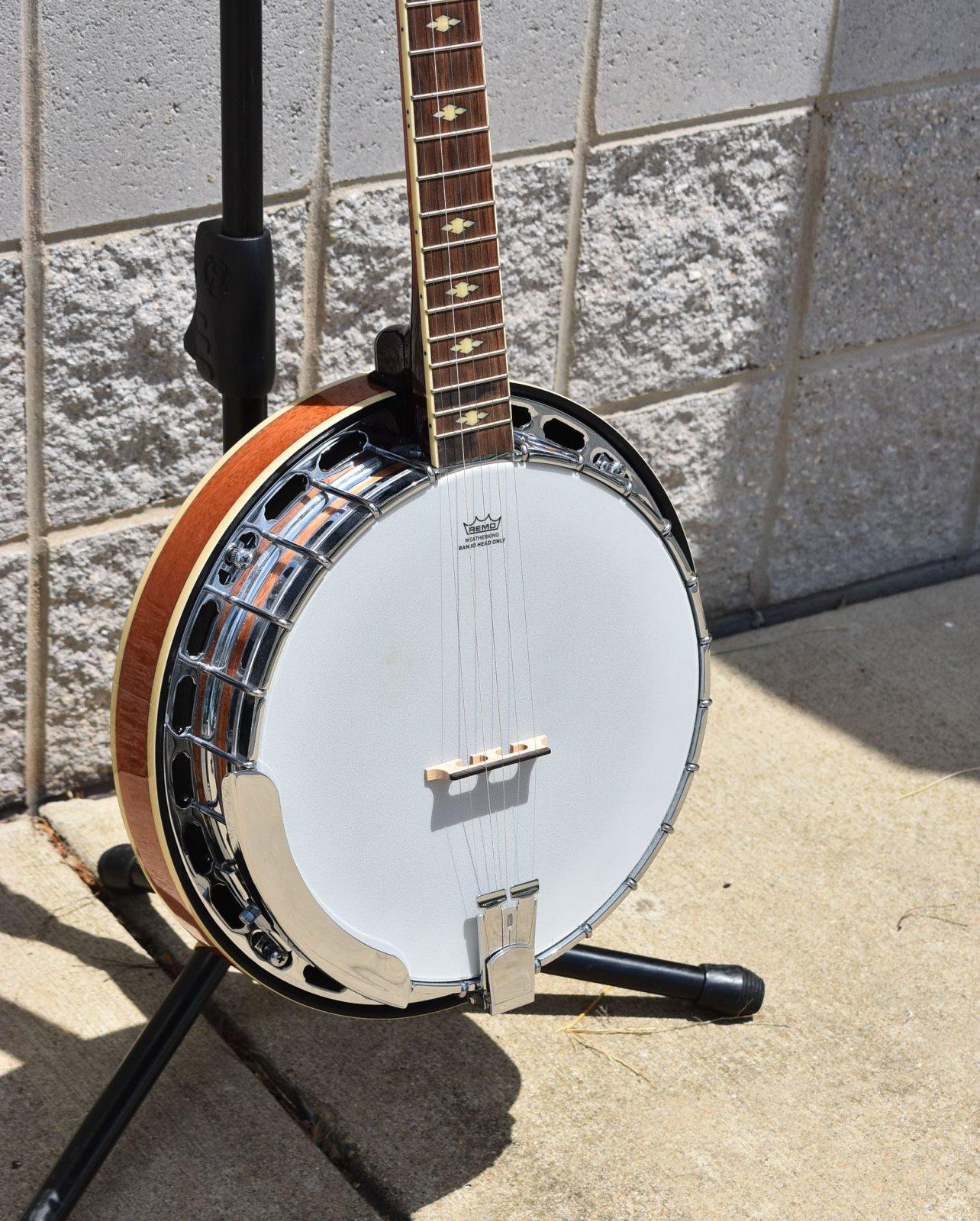 2012  Gretsch Broadkaster Deluxe Banjo