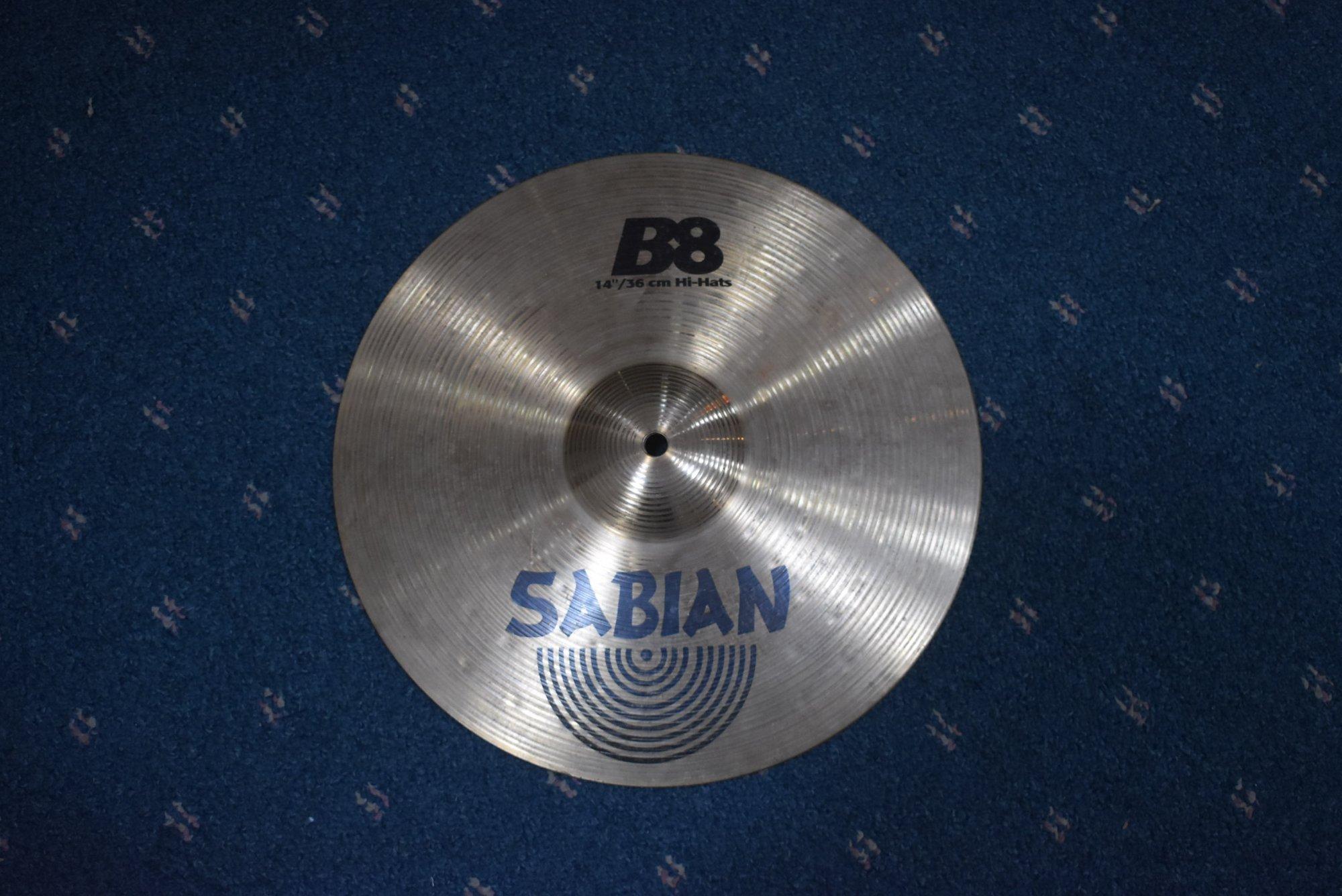 Used Sabian B8 14 Hi Hats