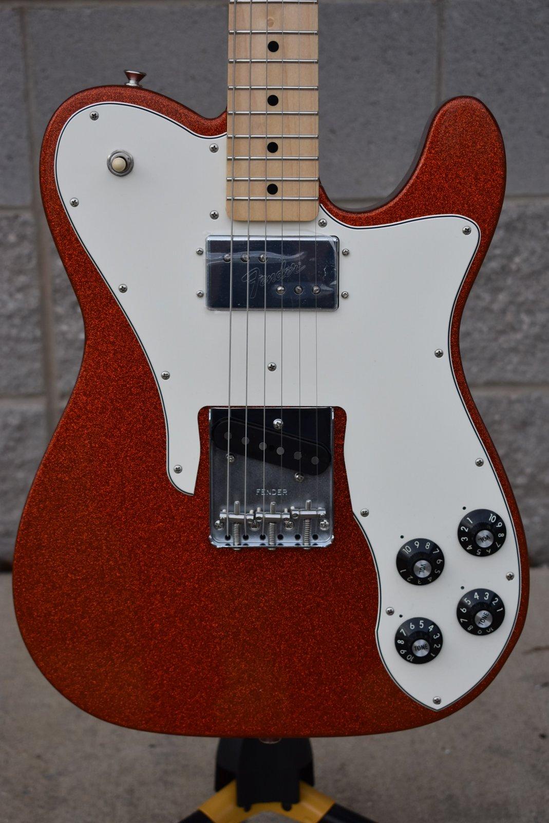 Fender Limited Edition '72 Tele Custom Orange Sparkle