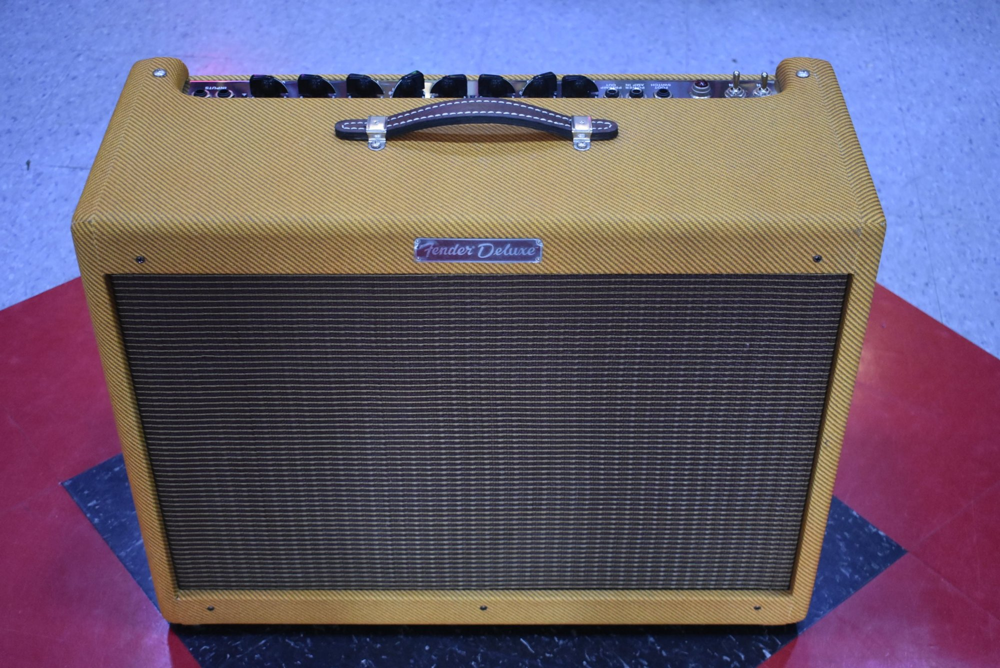 2012 Fender Limited Edition Blues Deluxe Smokey Tweed