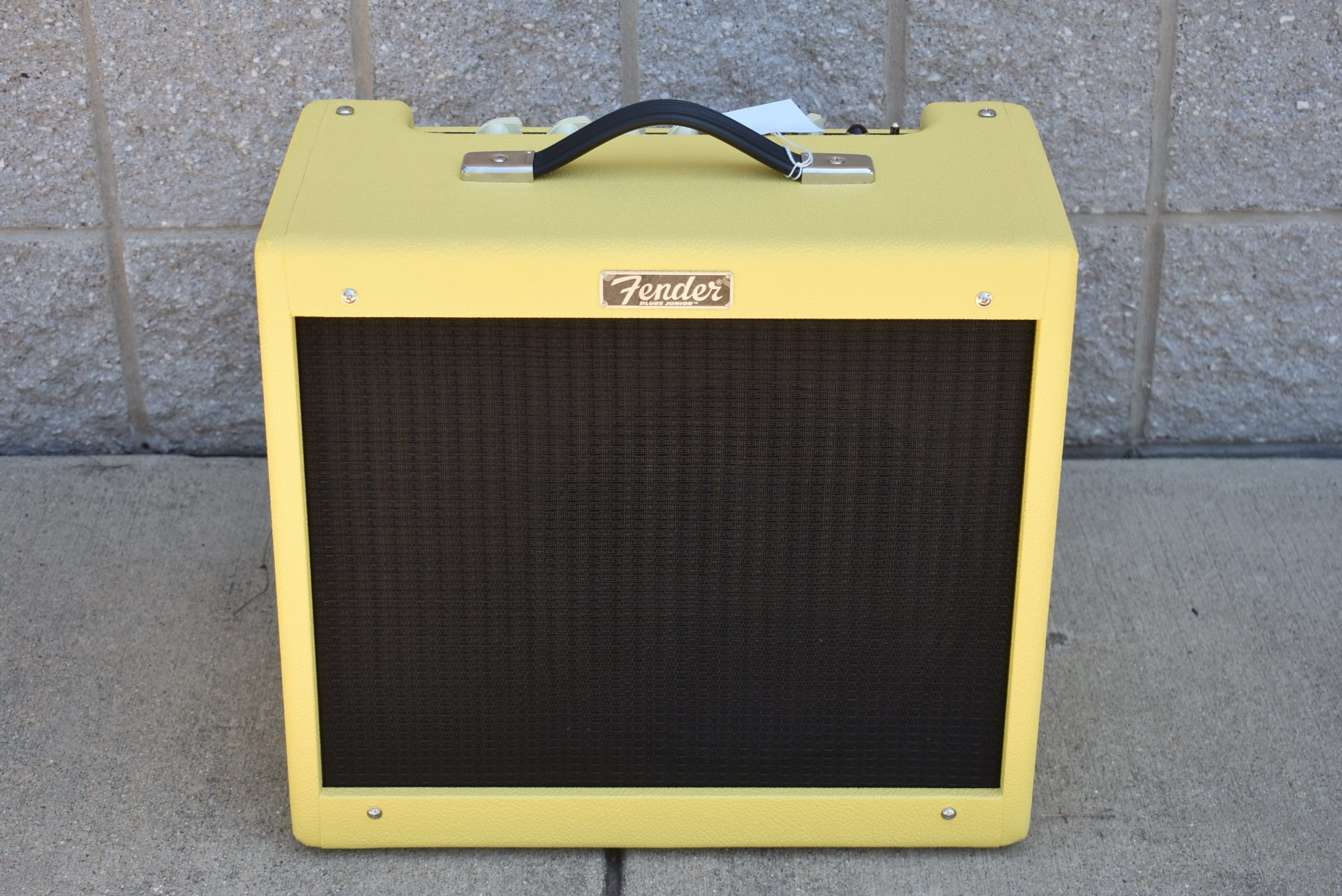 Fender 2020 Limited Edition Blues Junior IV Swamp Thang  Graffiti Yellow