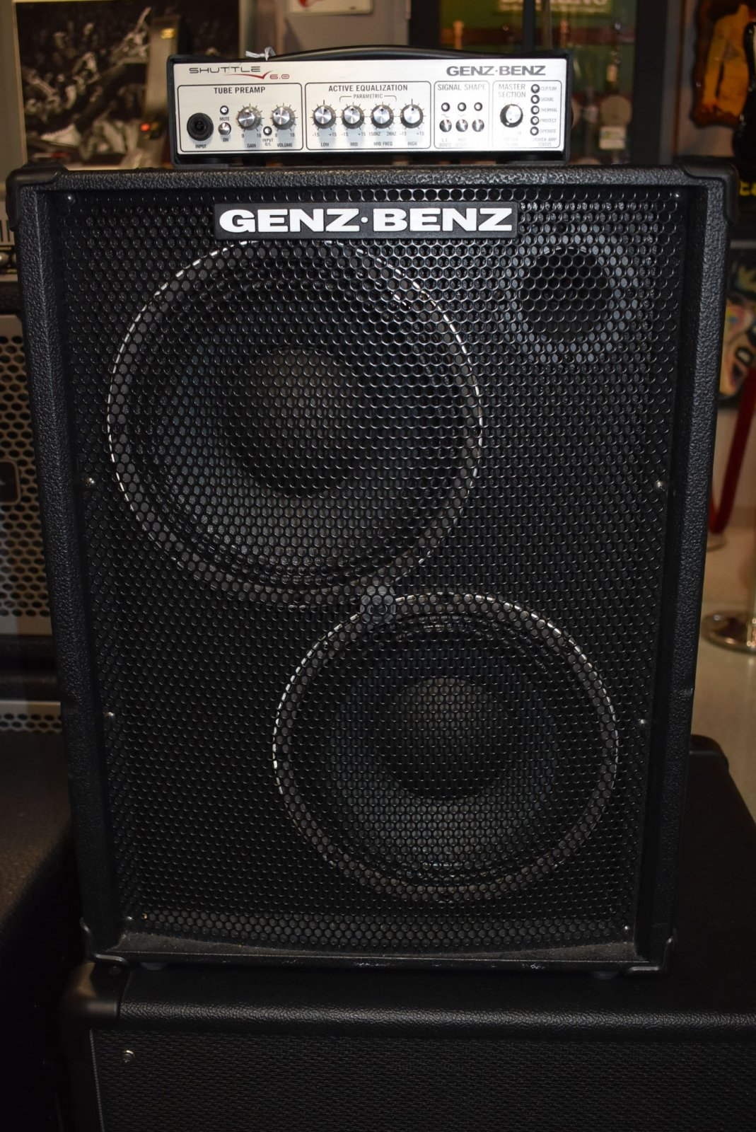 Used Genz Benz 6 0 Bass Head With 2x10 Cabinet
