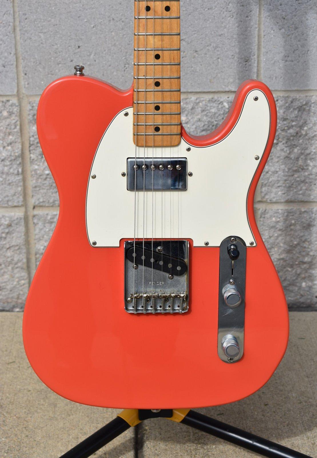 1997 Fender California Fat Telecaster - Fiesta Red