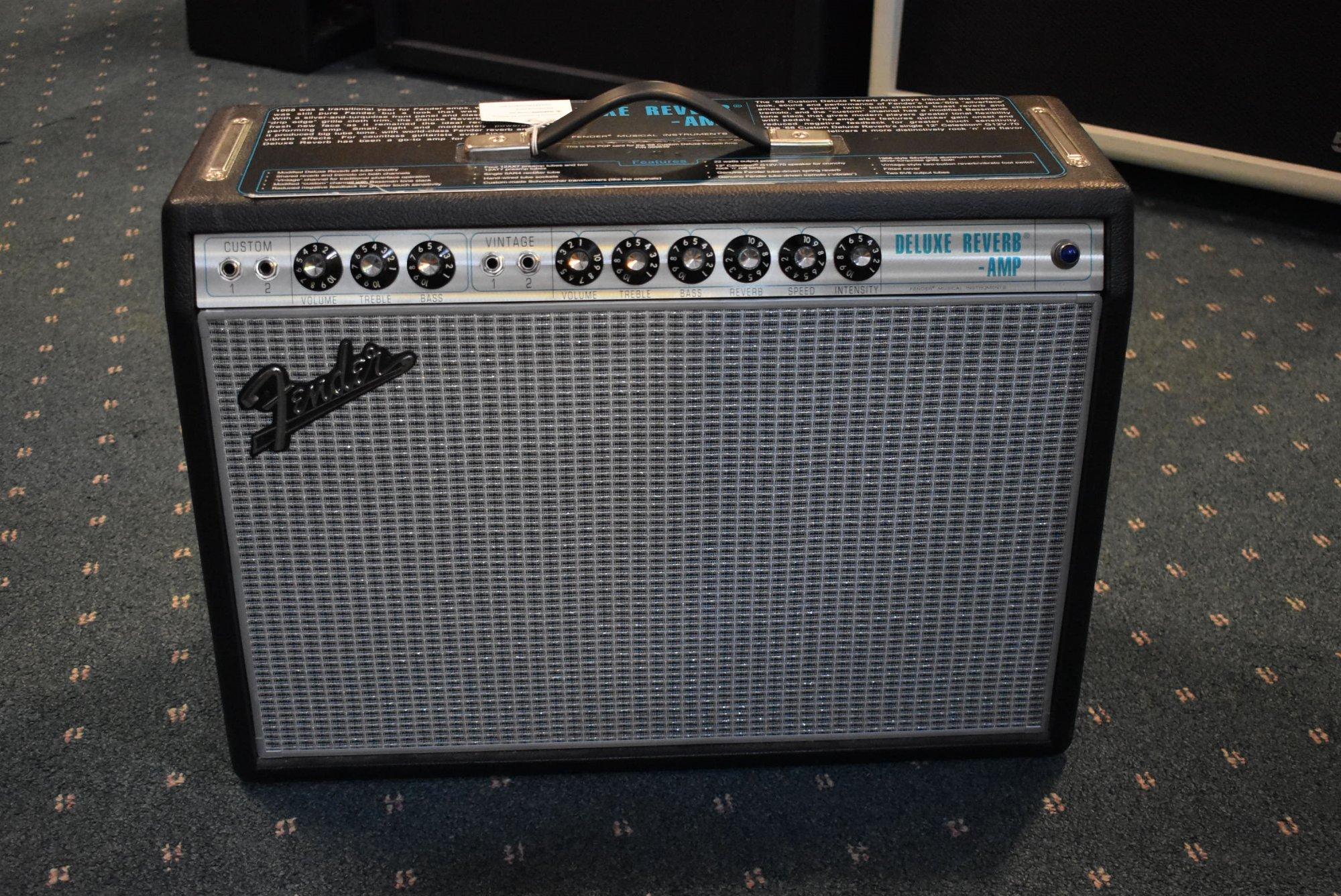 2019 Fender '68 Custom Deluxe Reverb