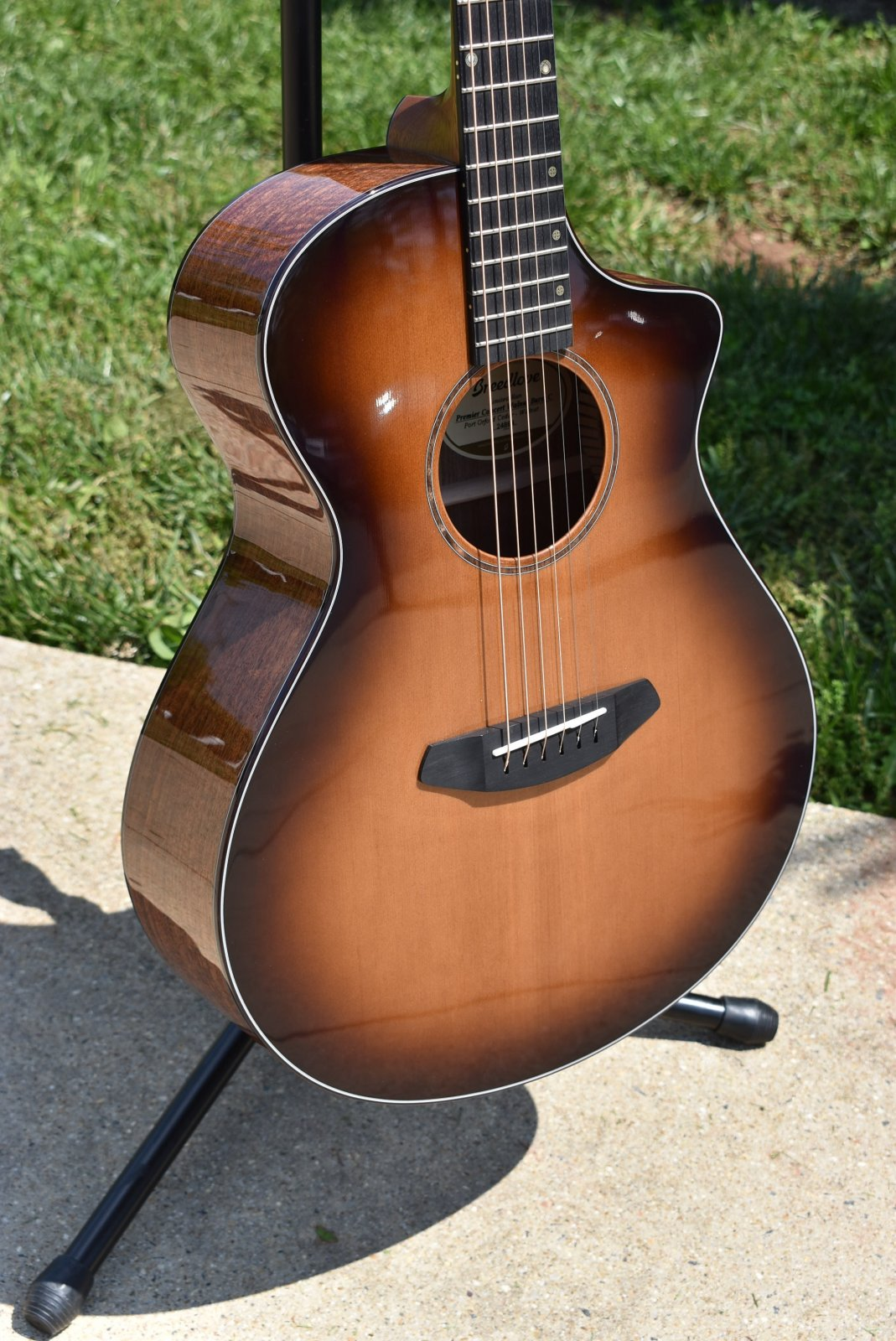 Breedlove Limited Run Premier Concert Walnut Burst
