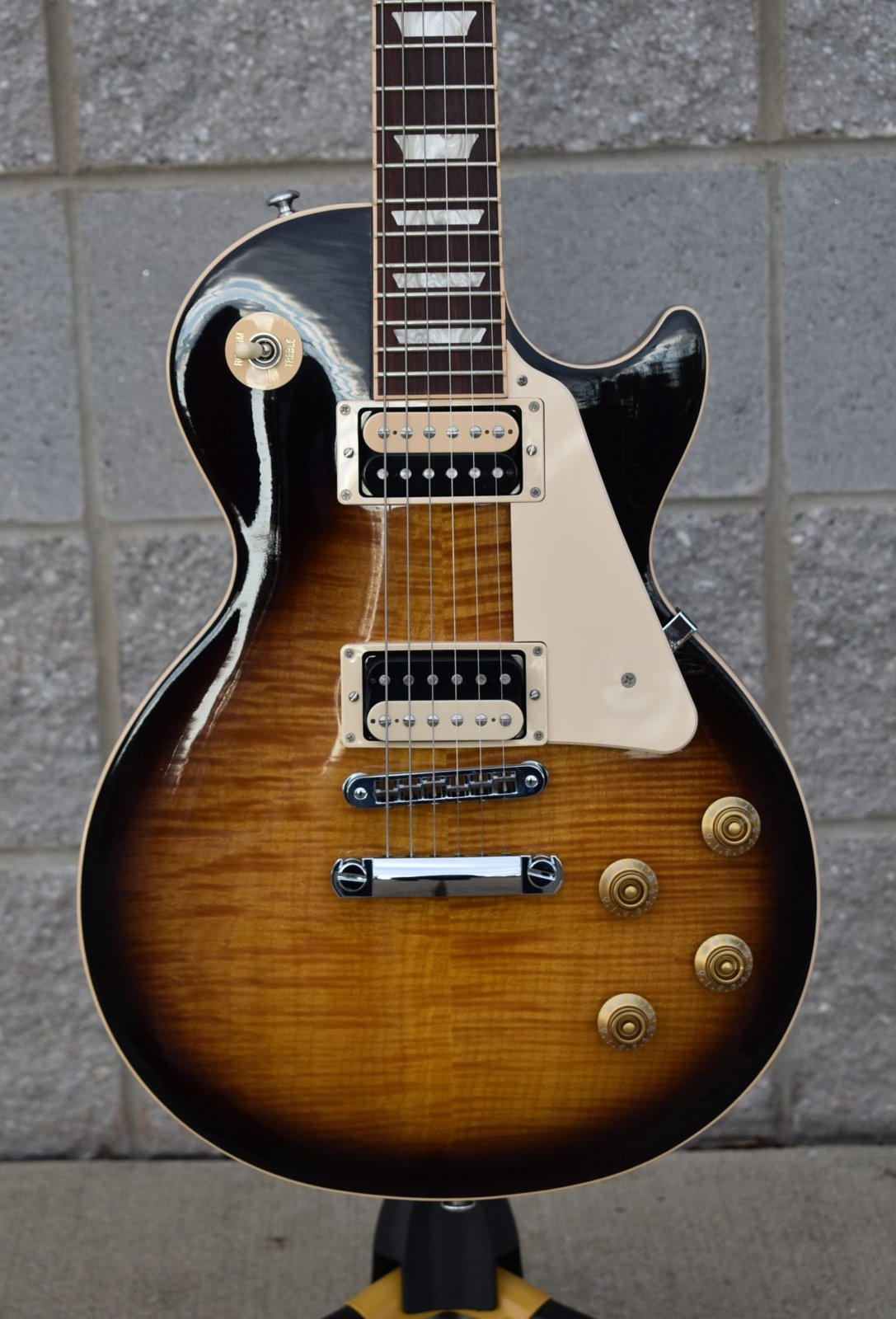 2015 Gibson Les Paul Traditional Pro IV Flame Top