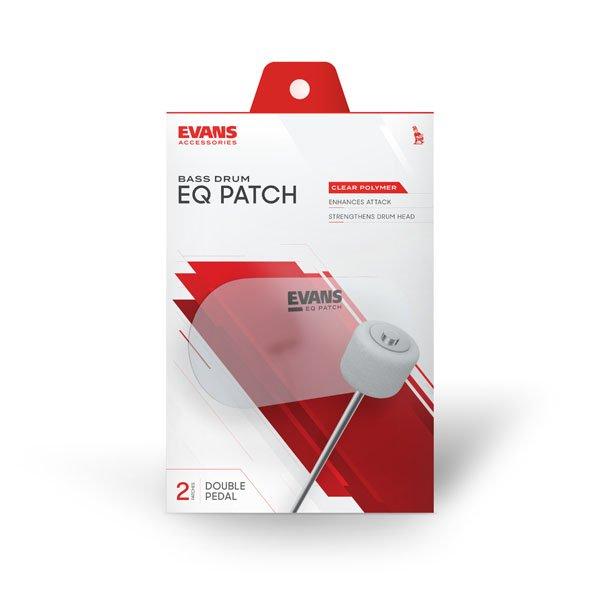 Evans EQPC2    EQ Clear Plastic Double Patch