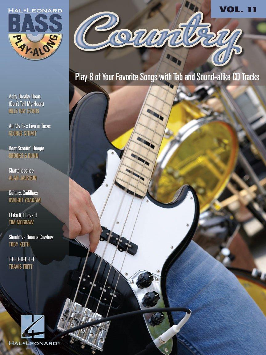 Country Bass Play-Along (CD) Vol. 11 TAB