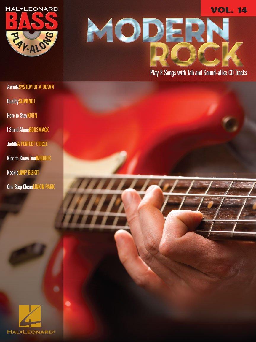 Modern Rock Bass Play-Along Vol. 14 TAB (CD)