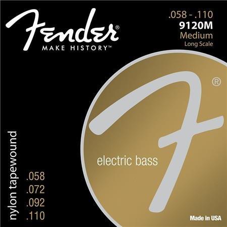 Fender 9120M  Nylon Tape Wound Medium Long Scale