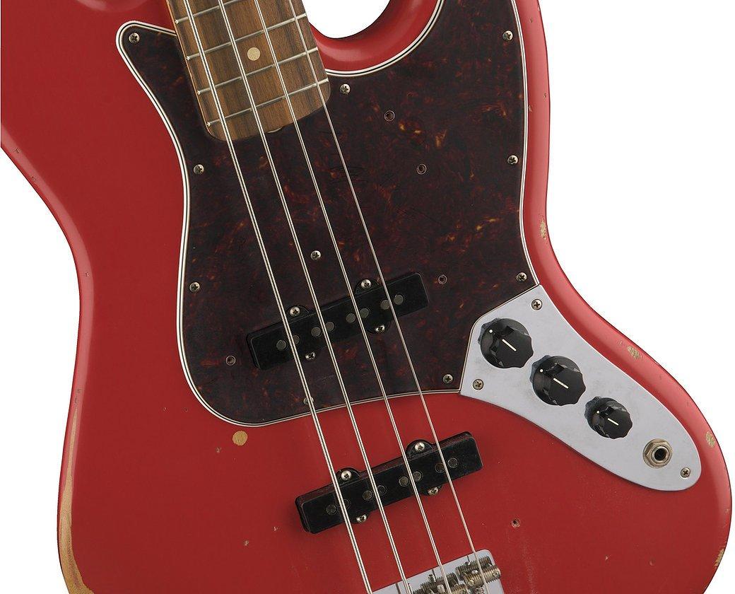 Fender Road Worn '60s Jazz Bass - Fiesa Red