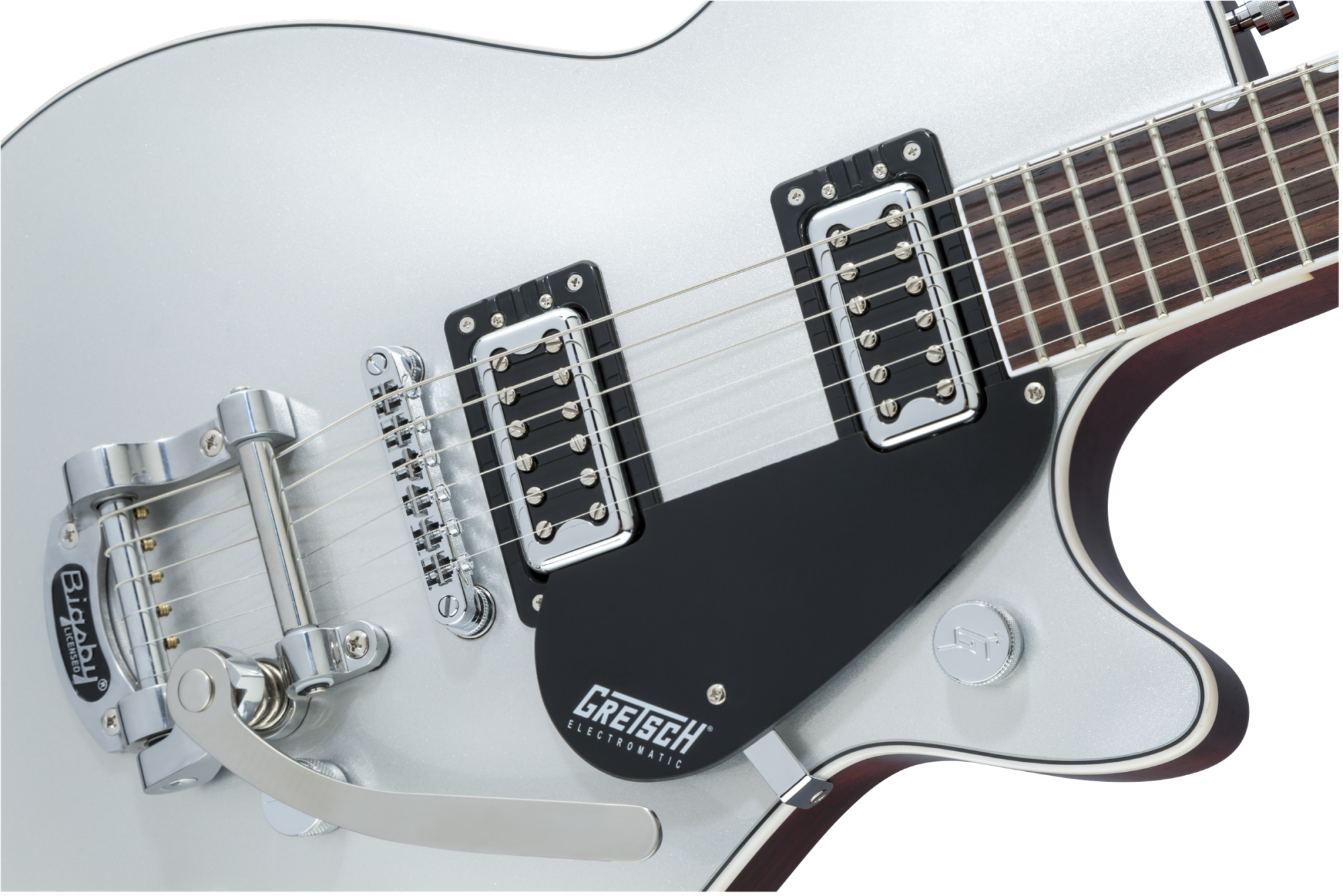 Gretsch G5230T Electromatic Jet Single-Cut Bigsby - Airline Silver